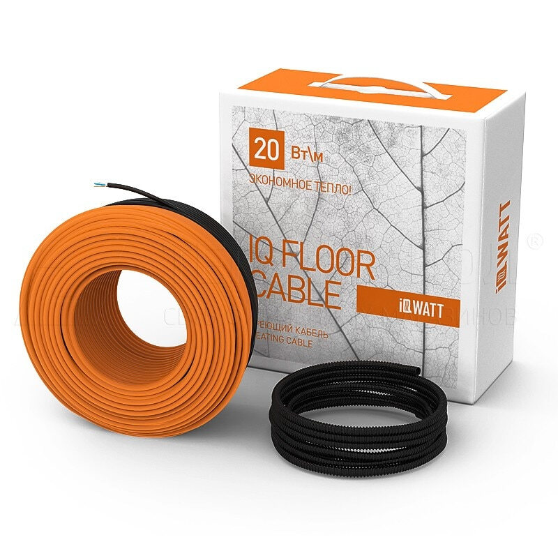 iq floor cable 100 м.